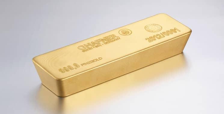 LBMA Goldbarren - C.HAFNER